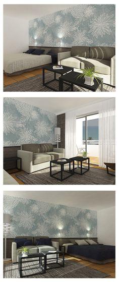 propuesta de habitación para hotel en las Islas Canárias.