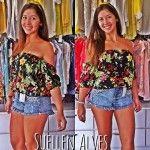 blusinha ciganinha estampada