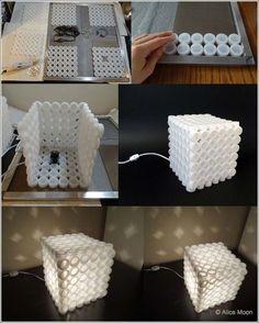 DIY Creative Plastic Bottle Cap Lamp | iCreativeIdeas.com Follow Us on Facebook --> https://www.facebook.com/icreativeideas: