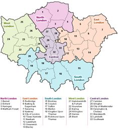 North London Appliance Repairs' team of engineers cover an extensive area across London and Sorounding area. London Borough Map, North London, Old London, London City, Central London Map, London Boroughs, Gk Knowledge, Appliance Repair, London Travel