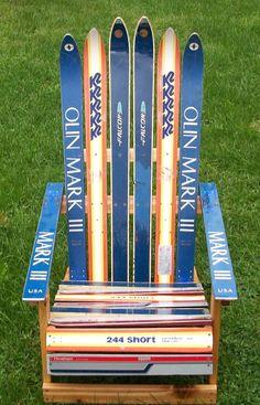 Adirondack Ski Chair by maineskichairs on Etsy