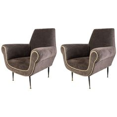 1960s Pair of Armchairs