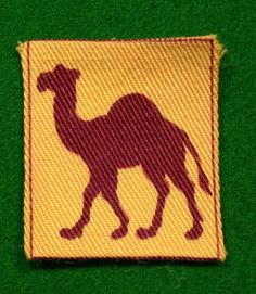 4th Battalion Cornwall Camelford Home Guard.  A good example of the printed insignia worn by the 4th Cornwall ( Camelford ) Battalion Home Guard.