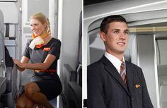 EasyJet cherche plus de 1200 hôtesses de l'air et stewards en Europe Air Hostess Uniform, European Airlines, Jet Airlines, Different Airlines, Pilot Uniform, Airline Cabin Crew, Easy Jet, Airline Uniforms