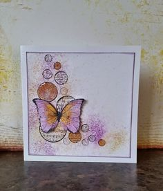 Crafty Flossie: Quick Butterfly cards