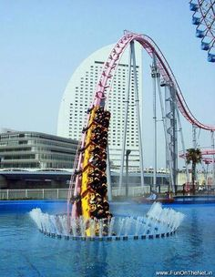 go on this Japanese roller-coaster.