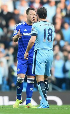 John Terry and Frank Lampard Photos: Manchester City v Chelsea - Premier League  it hurts though Frank......