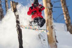 Chris Logan #teamdiscrete #skiing #rockdiscrete