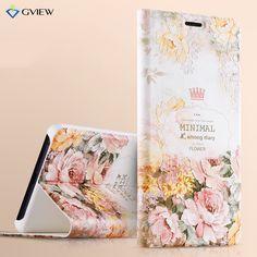Xiaomi Mi Note 2 Case Gview Luxury PU Leather 3D Relief Flip Cover Case For Xiaomi Mi Note 2 Stand Moblie Phone Bag Caque Capa #Affiliate