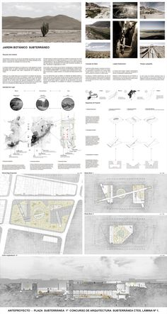 Jardín Botánico de Calama, Primer Lugar en Concurso de Arquitectura Subterránea CTES 2014 / Chile