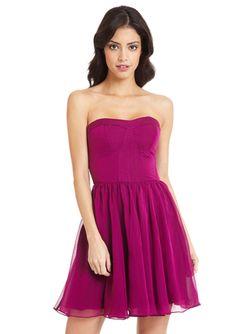 GUESS Sweetheart Strapless Dress