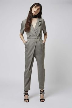Photo 2 of Wrap Belted Jumpsuit