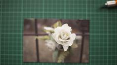 Kootoyoo creates a photographic wedding bouquet