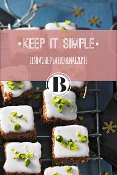 Einfache Plätzchen sind schnell gebacken. Freut euch auf simple Plätzchen-Rezepte - und über ein ganz besonderes Weihnachtsgeschenk: Zeit.