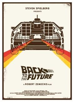 Back to the Future, Poster, Retro