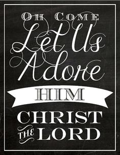 16 Fun Ways To Celebrate Your Faith This Christmas // free printable