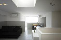 volumetric skylight   Ordinary House ::: FORM / Kouichi Kimura Architects