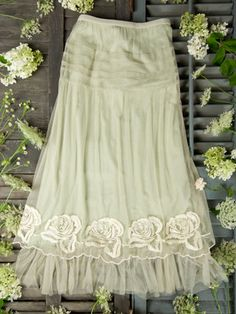 I keep seeing these Tulle skirts for little girls.  I have no need of this skirt but I really love it.
