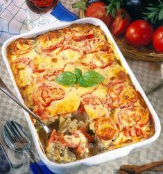 Lajos Mari konyhája - Görög muszaka Quiche Muffins, Hungarian Recipes, Meat Recipes, Cauliflower, Crockpot, Slow Cooker, Food And Drink, Favorite Recipes, Beef