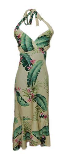 #Shop: So sexy! Ko Olina Maize halter Hawaiian dress