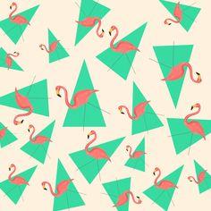 Crazy Flamingos Art Print by Laura Ruth | Society6