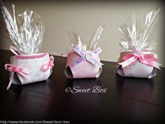 Diaper favor box, baby shower party favors Baby Shower Party Favors, Baby Shower Parties, Pink Patterns, Favor Boxes, Gift Wrapping, Unique Jewelry, Handmade Gifts, Etsy, Diaper Parties