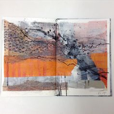 Sketchbook pages by Jean Davey Winter // sketchbook