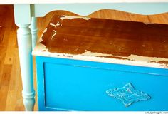 Rustic Workshop Trunk Makeover (Before & After)