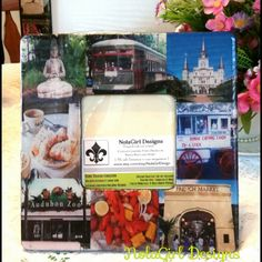 Check out this item in my Etsy shop https://www.etsy.com/listing/124426732/new-orleans-inspired-picture-frame