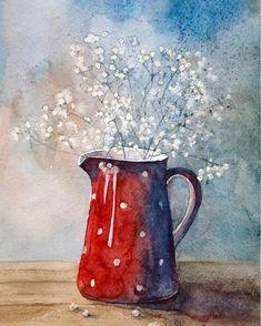 "4,217 mentions J'aime, 13 commentaires - АКВАРЕЛЬНЫЙ БУМ (@watercolor.boom) sur Instagram : ""Художник: @svetlana_otvetchikova #акварель #aquarelle #painting #drawing #art #artist #artwork…"""
