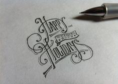Brush Lettering Collection No. 1 by Neil Secretario