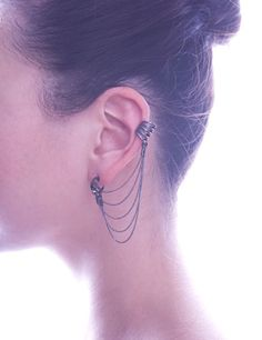[Armor Jewelry Ina Earring] #earring $100