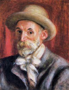 pierre auguste renoir | Pierre-Auguste Renoir >> Auto-Retrato | (óleo, obra, reprodução ...