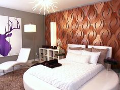 Eclectic Bedrooms from David Bromstad on HGTV