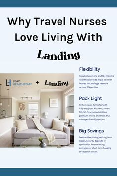 Travel nurses love living with Landing! But no need to listen to us, check out their page and see what actually nurses have to say about living the #LandingLife! Text us (714-582-4033) for a discount code for $250 off your first month's rent. Fully Furnished Apartments, Rental Apartments, Living In Dallas, Looking For Houses, Nurse Love, Travel Nursing, Packing Light, Nurses, Landing