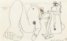 Whiteley, Brett, Two Women Beside the Sea c. 1978