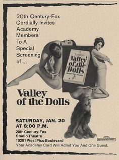 Vintage Movies, Vintage Posters, New Movies, Movies And Tv Shows, Studio Theater, Vinyl Poster, Movies Worth Watching, Valley Of The Dolls, Sharon Tate
