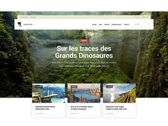 Dribbble - Le Routard — Home page V2 by Pierre Georges