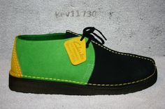Clarks Original Desert Trek Blk GR Jamaica 78099 Men Sz