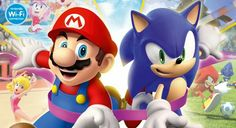 Mario and Sonic in Olimpic Games