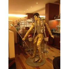 Statue Elvis Grandeur Nature
