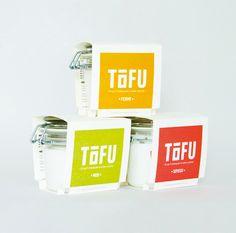 //Student Work – Cécile Dumetier// Tofu, Cosmetic Packaging, Brand Packaging, Clever Packaging, Packaging Ideas, Food Packaging, Yogurt Packaging, Food Branding, Design Fields