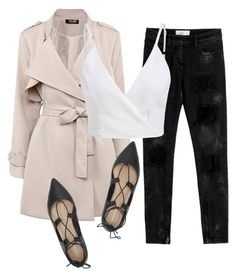 """""""Untitled #115"""" by iahast on Polyvore featuring Loeffler Randall and Faith Connexion"""