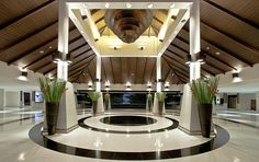 Sheraton Krabi Beach Resort—Lobby at Sunset