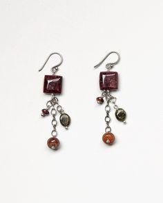 Coldwater Creek: Tourmaline drop earrings