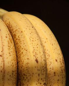 Yellow Banana Kitchen Art Photograph Fruit Macro by MollysMuses