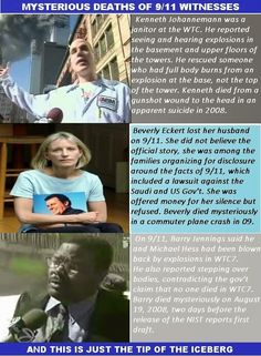 """Mysterious Deaths of 9/11 Eye Witnesses - Proof that 9/11 was an """"Inside Job"""""""