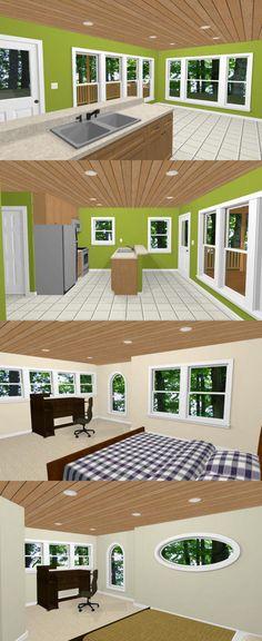 20х20 дом ... #20X20H9B -- 1,108 кв. м - отличные планы этажей