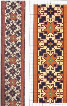 Esquemas alfombras punto cruz - Pilar García - Picasa Web Albums follow the links for lots of carpet patterns to stitch
