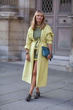Street Style: Paris Fashion Week Spring 2014 - Alexandra Gaolovanoff
